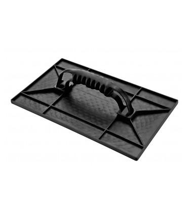 Grooved plastic trowel 30x17cm