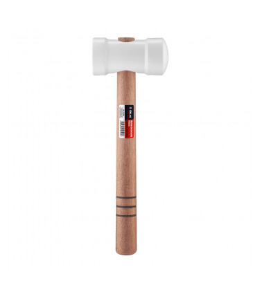 White 60mm rubber mallets