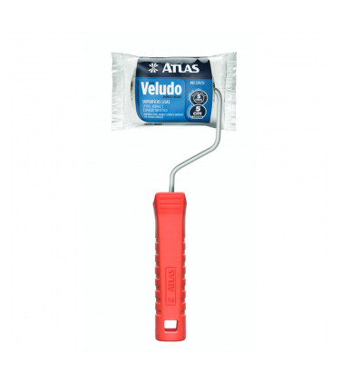 9cm Veludo mini roller with handle