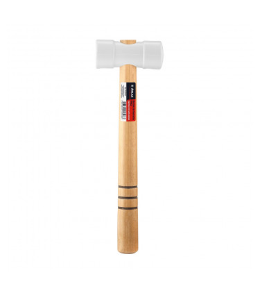 White 40mm rubber mallets