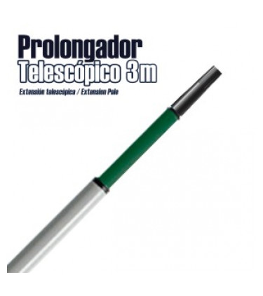Telescopic extension pole 1,7M to 3M