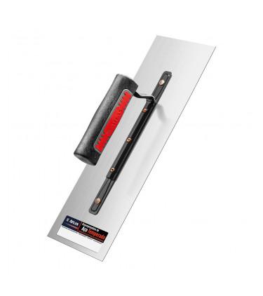 Steel trowel with straight edges 35x12cm