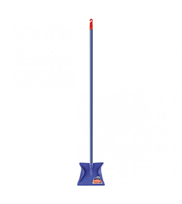 Super resistant metal dustpan with handle