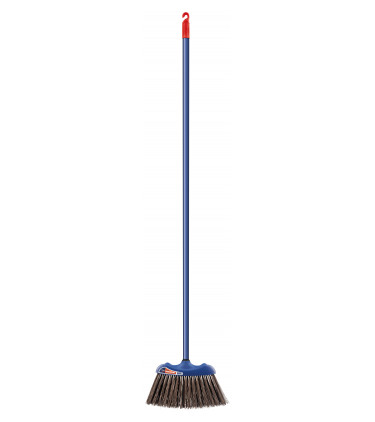 Large rigid bristle broom