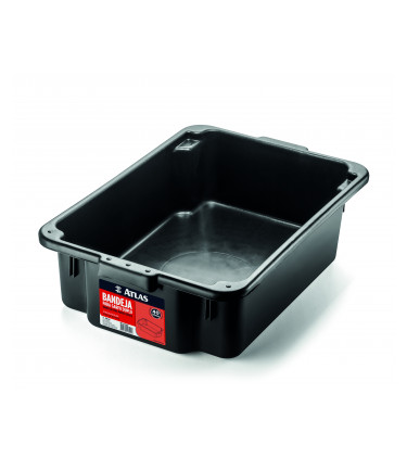 Professional 40 liters plastic paint tray for rollers up to 46cm